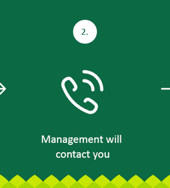 Management will contact you